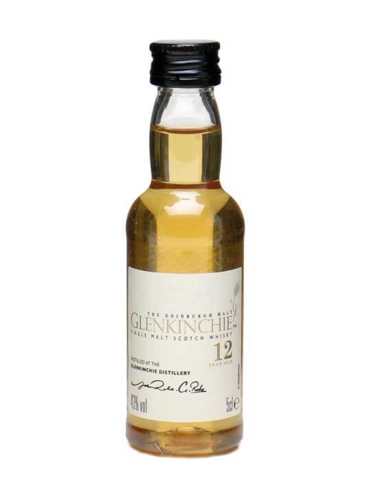 Glenkinchie 12 Year Old Miniature Lowland Single Malt Scotch Whisky