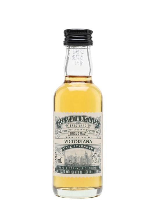 Glen Scotia Victoriana Cask Strength / Miniature Campbeltown Whisky