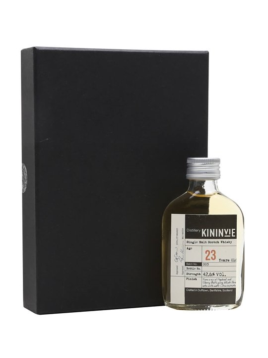 Kininvie 23 Year Old / Batch 3 / Miniature Speyside Whisky
