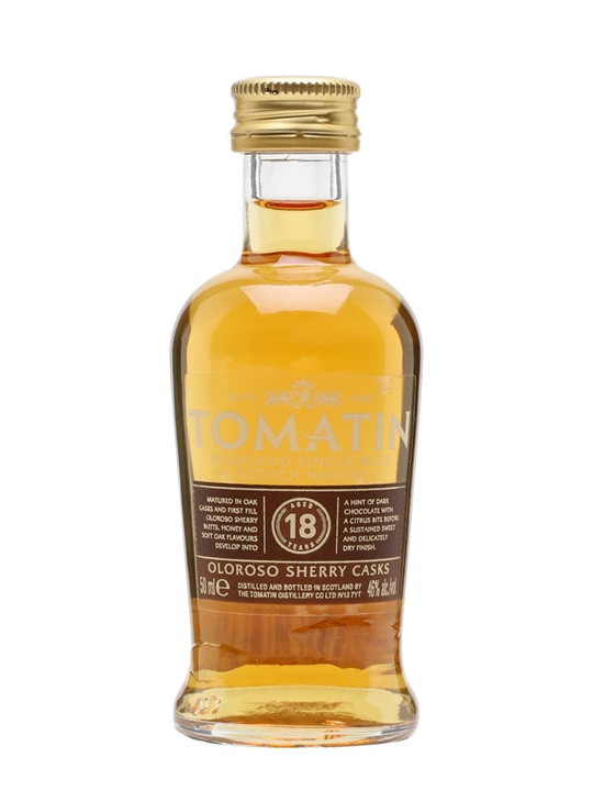 Tomatin 18 Year Old / Oloroso Sherry Finish Highland Whisky