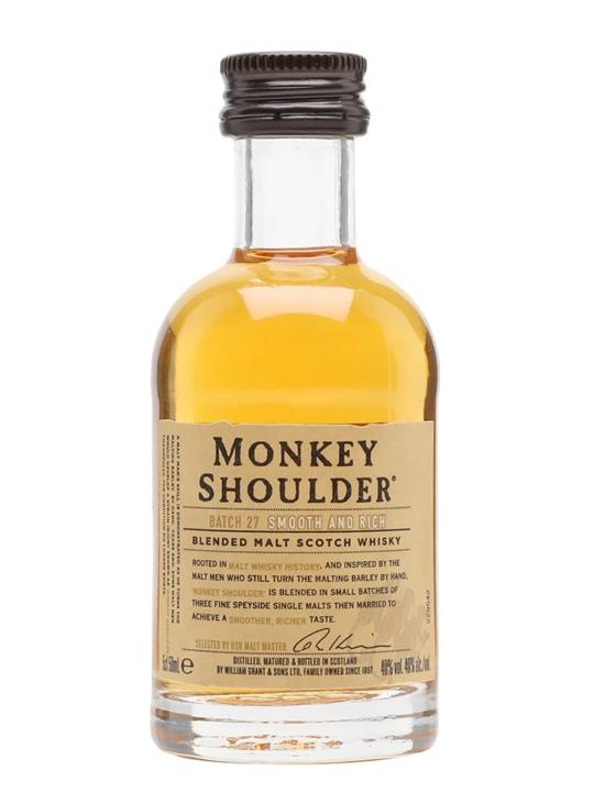 Monkey Shoulder Miniature Blended Malt Scotch Whisky