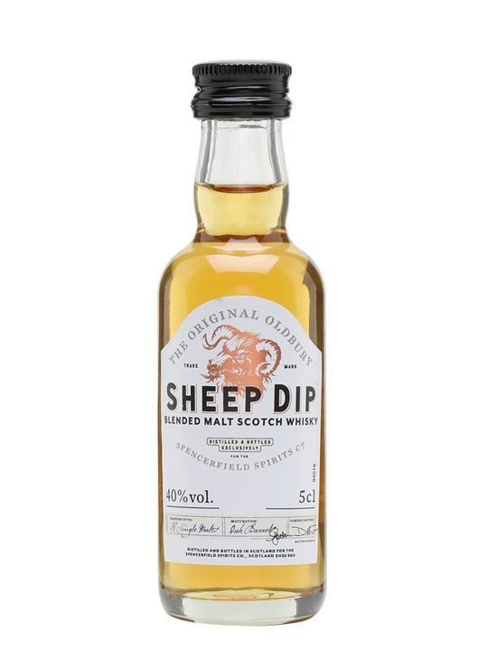Sheep Dip Blended Malt Miniature Blended Malt Scotch Whisky