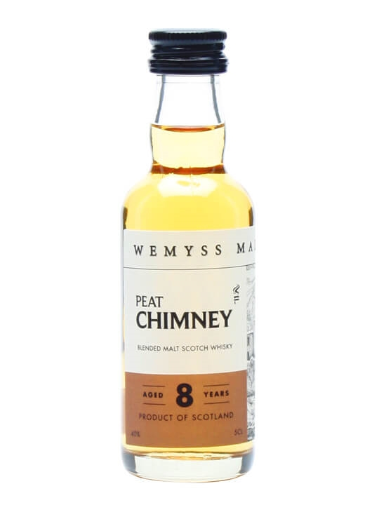 Wemyss Peat Chimney 8 Year Old Blended Malt Scotch Whisky