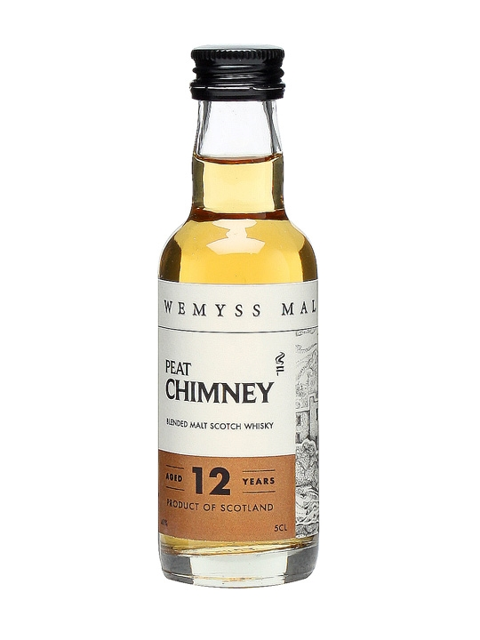 Wemyss Peat Chimney 12 Year Old Blended Malt Scotch Whisky