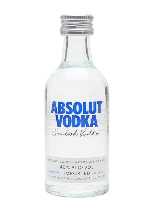 Absolut Vodka Miniature