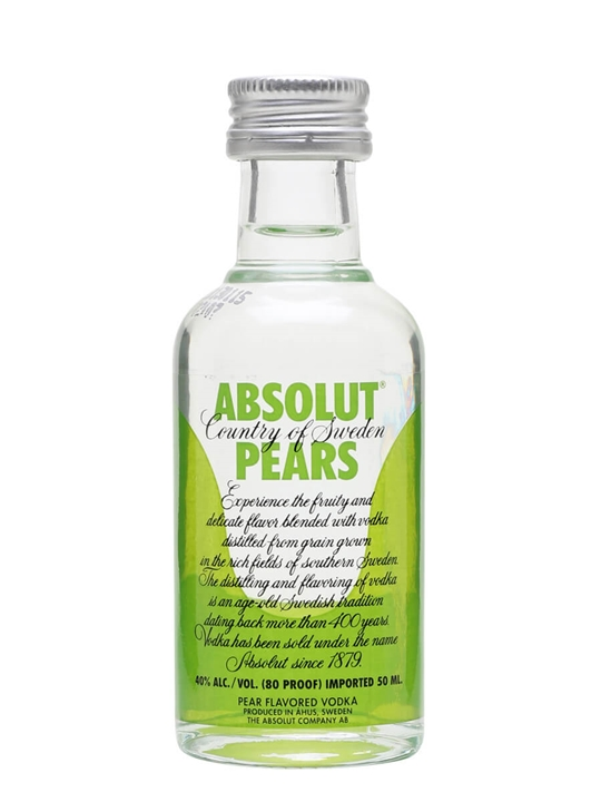 Absolut Pears Miniature