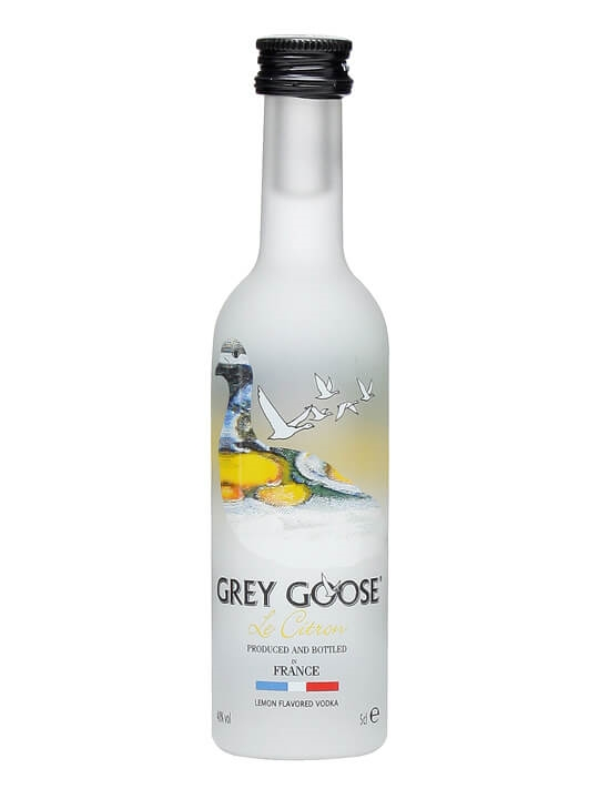 Grey Goose Citron Vodka Miniature