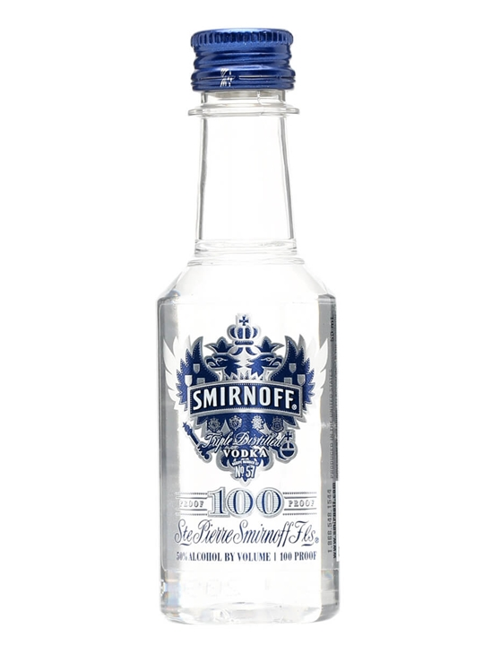 Smirnoff Blue Vodka / Miniature
