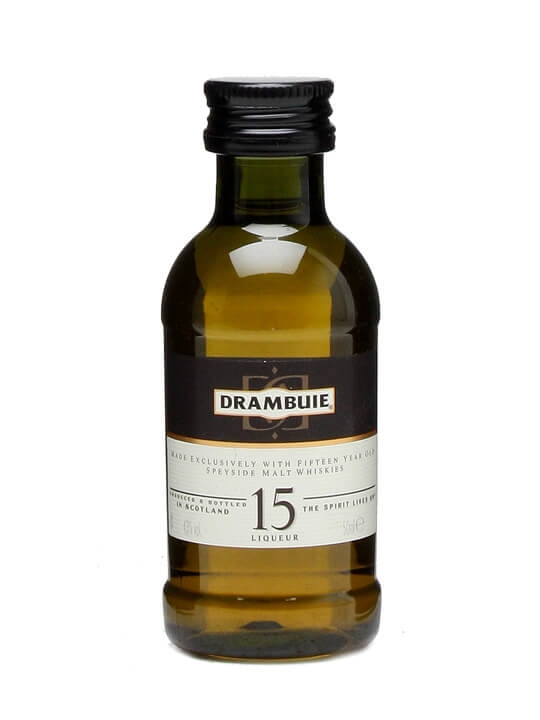 Drambuie 15 Year Old Whisky Liqueur Miniature