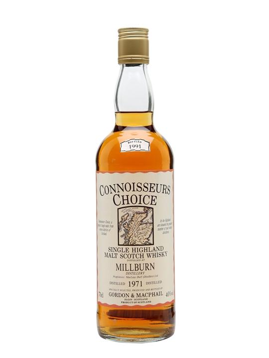Millburn 1971 / Bot.1991 / Connoisseurs Choice Highland Whisky
