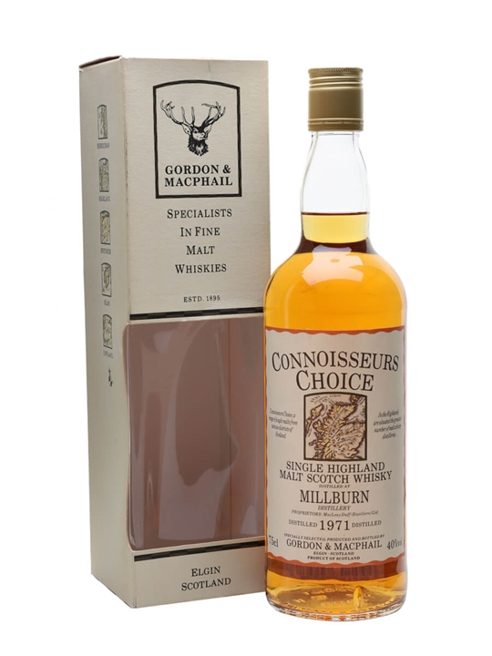 Millburn 1971 / Bot.1980s / Connoisseurs Choice Highland Whisky