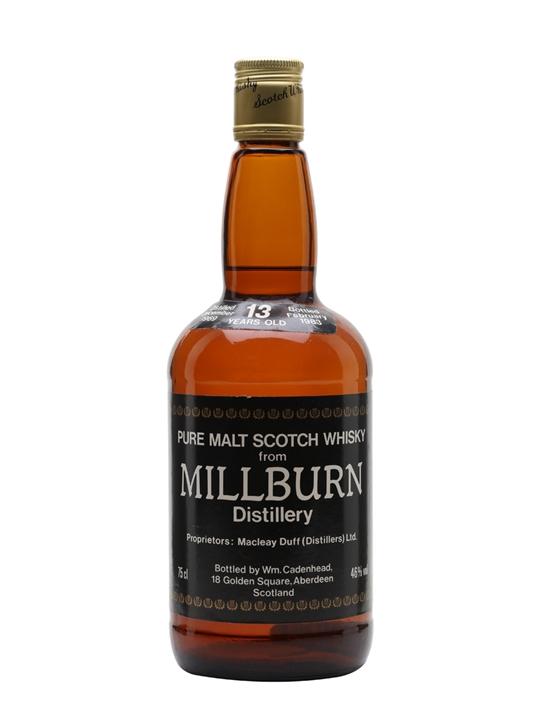 Millburn 1969 / 13 Year Old / Cadenhead's Highland Whisky