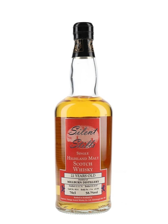 Millburn 1974 / 22 Year Old / Silent Stills Highland Whisky