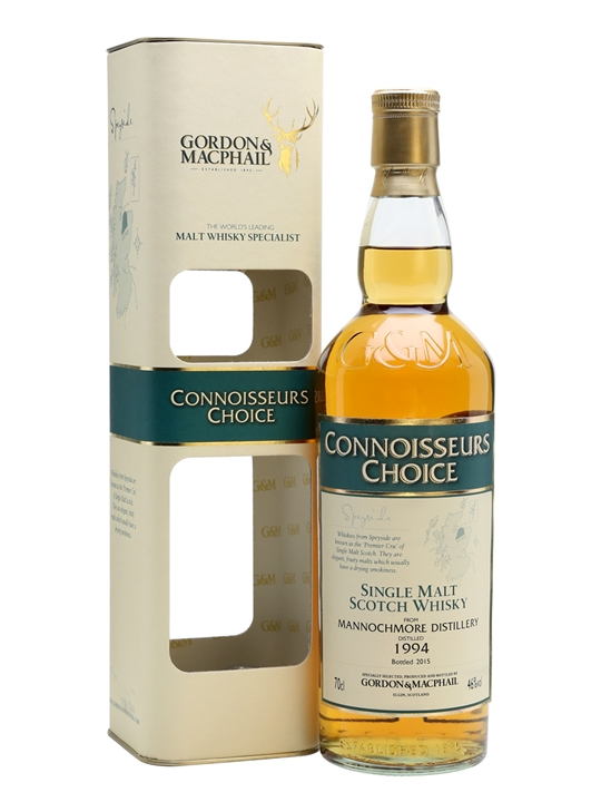 Mannochmore 1994 / Bot.2015 / Connoisseurs Choice / G&m Speyside Whisky