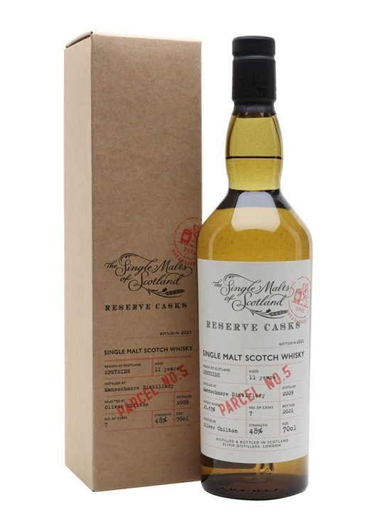 Mannochmore 2009 / 11 Year Old / Reserve Cask Parcel #5 Speyside Whisky