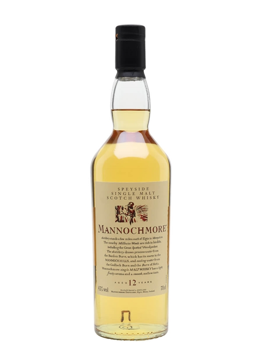 Mannochmore 12 Year Old Speyside Single Malt Scotch Whisky