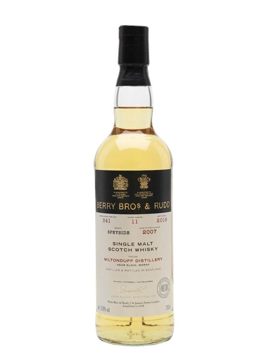 Miltonduff 2007 / 11 Year Old / Berry Bros & Rudd Speyside Whisky