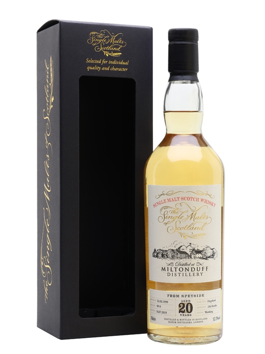 Miltonduff 1999 / 20 Years Old / Cask #5014 / Smos Speyside Whisky