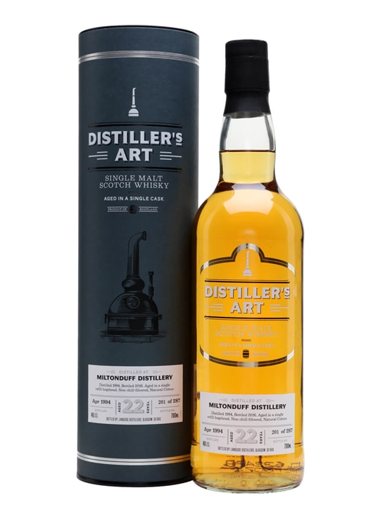 Miltonduff 1994 / 22 Year Old / Distiller's Art Speyside Whisky