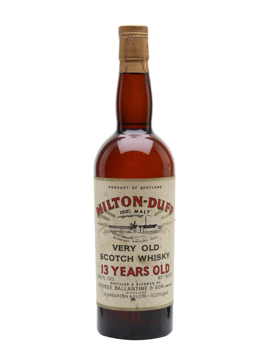 Miltonduff 13 Year Old / Bot.1960s Speyside Single Malt Scotch Whisky