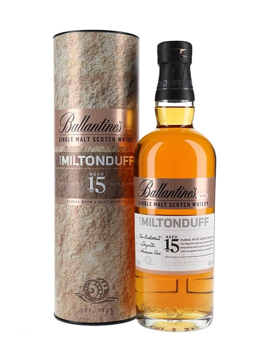 Ballantine's Miltonduff 15 Years Old Speyside Whisky