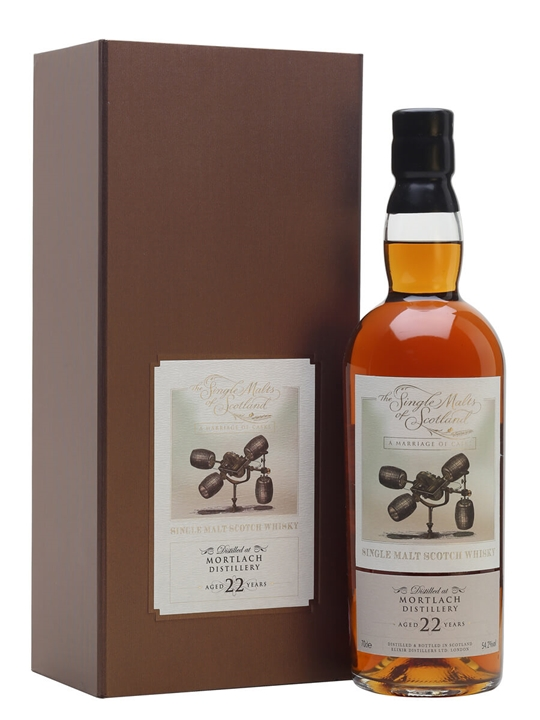 Mortlach Marriage 22 Year Old / Single Malts of Scotland Speyside Whisky