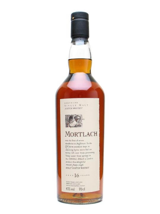 Mortlach 16 Year Old / Flora & Fauna Speyside Whisky