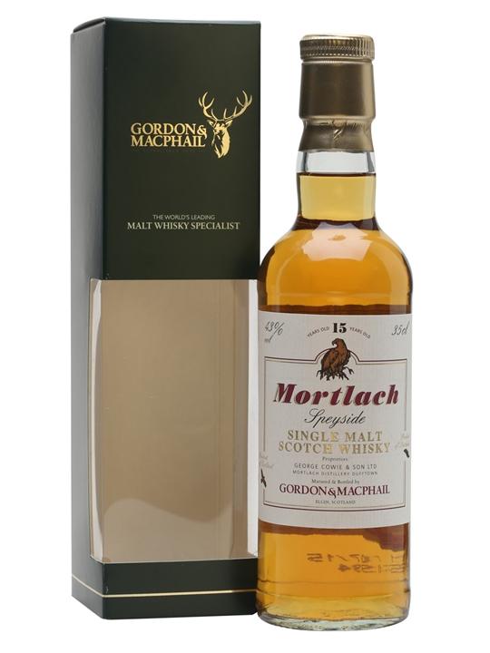 Mortlach 15 Year Old / Gordon & Macphail / Half Bottle Speyside Whisky