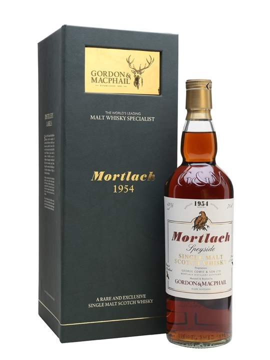 Mortlach 1954 / Bot.2012 / Sherry Butt / G&m Speyside Whisky