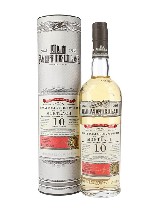 Mortlach 2009 / 10 Year Old / Old Particular Speyside Whisky
