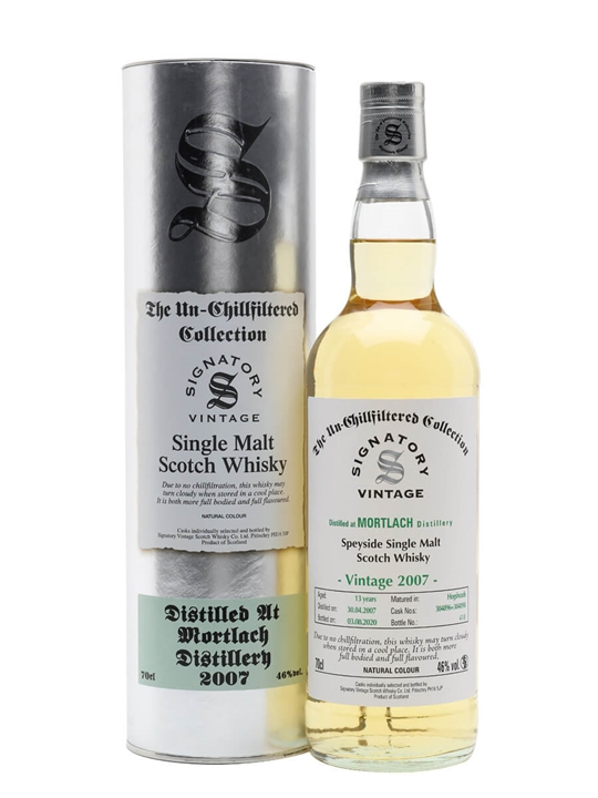 Mortlach 2007 / 13 Year Old / Signatory Speyside Whisky