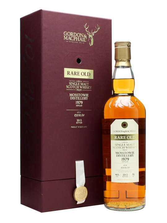Mosstowie 1979 / 32 Year Old / Rare Old / Gordon & Macphail Speyside Whisky