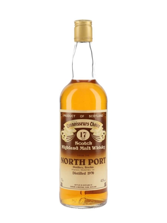 North Port 1970 / 17 Year Old / Connoisseurs Choice Highland Whisky