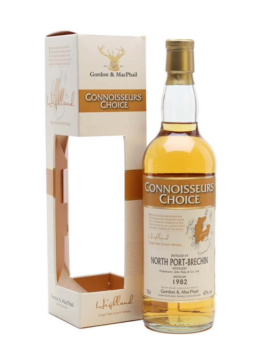 North Port Brechin 1982 / Connoisseurs Choice Highland Whisky