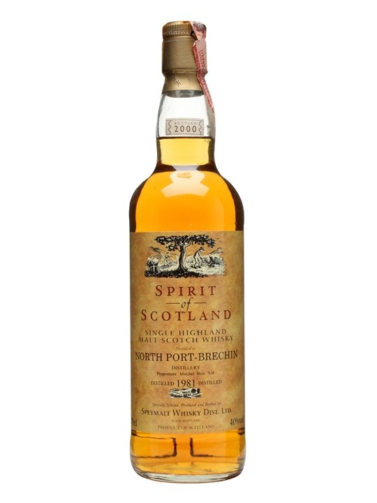 North Port Brechin 1981 / Spirit Of Scotland Highland Whisky