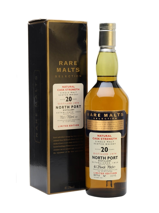North Port Brechin 1979 / 20 Year Old / Rare Malts Highland Whisky