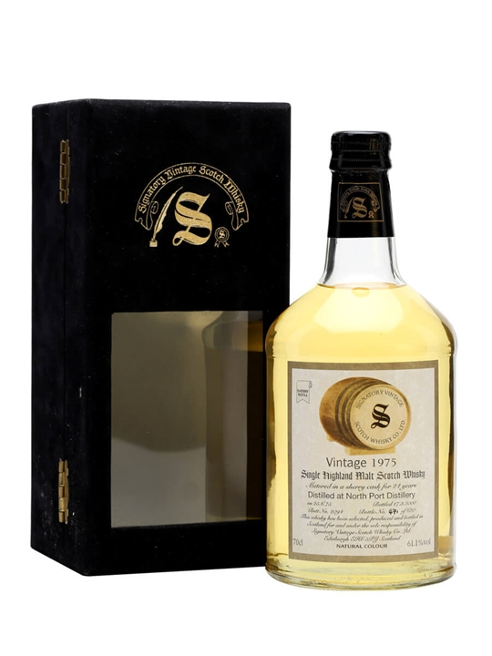 North Port 1975 / 24 Year Old / Sherry Cask / Signatory Highland Whisky