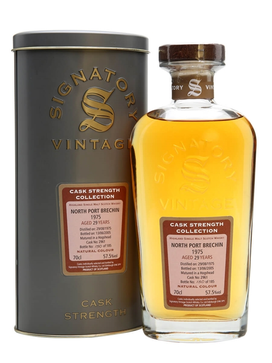 North Port Brechin 1975 / 29 Year Old / Signatory Highland Whisky