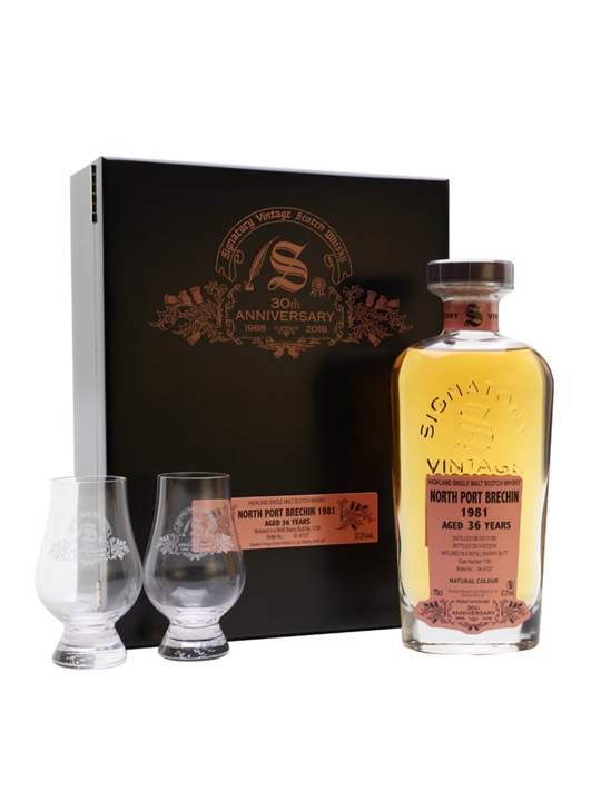 North Port Brechin 1981 / 36 Year Old / Signatory 30th Anniversary Highland Whisky