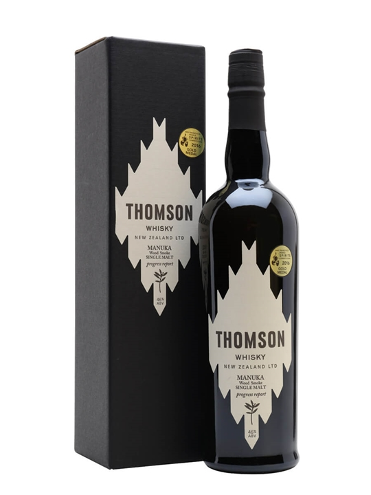 Thomson Manuka Smoke Single Malt New Zealand Single Malt Whisky