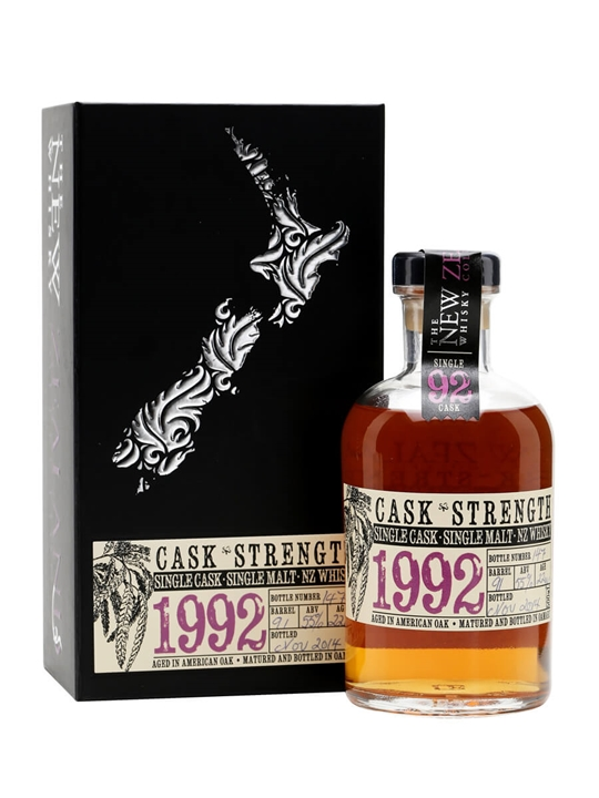 New Zealand 1992 / 22 Year Old / Cask #91 New Whisky