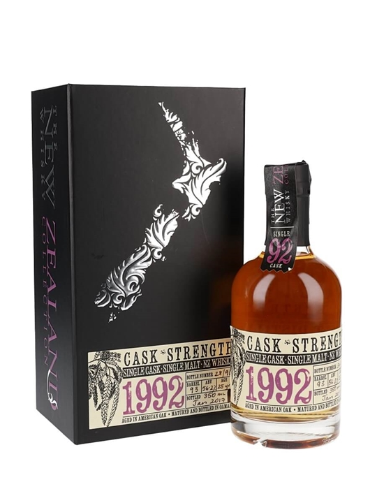 New Zealand 1992 / Cask Strength New Zealand Single Malt Whisky