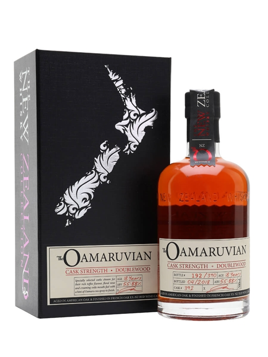 New Zealand Oamaruvian Cask Strength Double Wood New Whisky