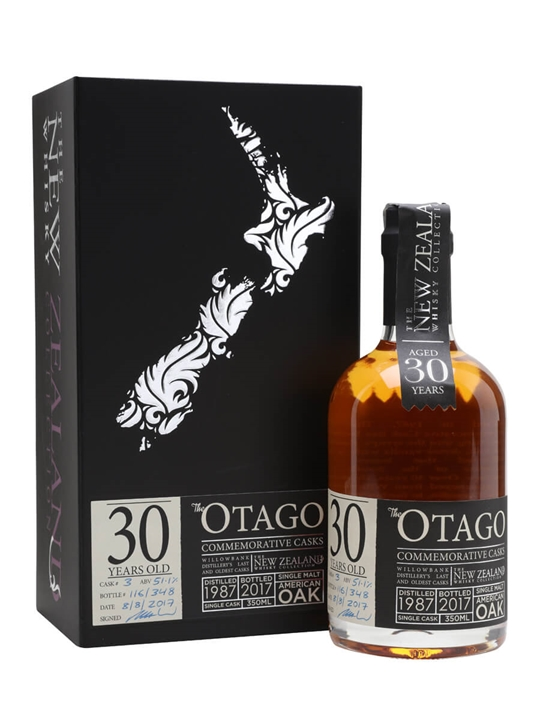 New Zealand Otago 30 Year Old / Half Bottle New Whisky