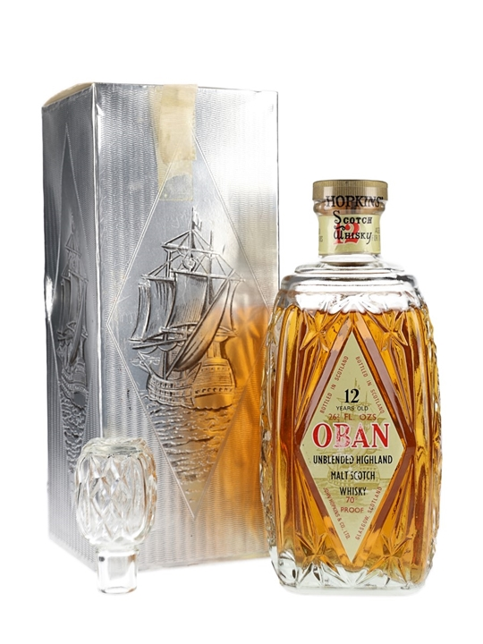 Oban 12 Year Old / Bot.1970s Highland Single Malt Scotch Whisky