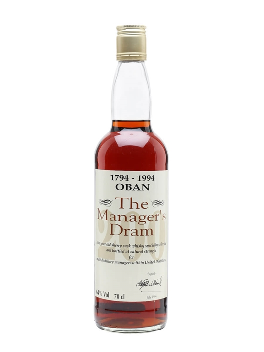 Oban Bicentenary / 16 Year Old / Sherry Cask Highland Whisky