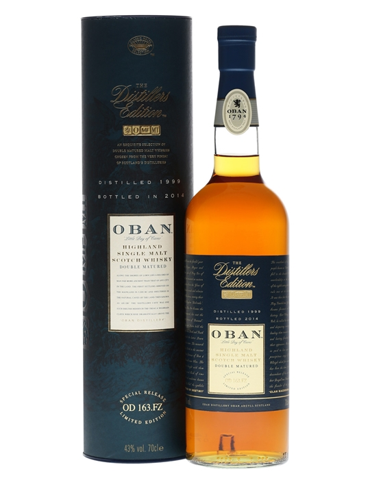 Oban 1999 / Distillers Edition Highland Single Malt Scotch Whisky