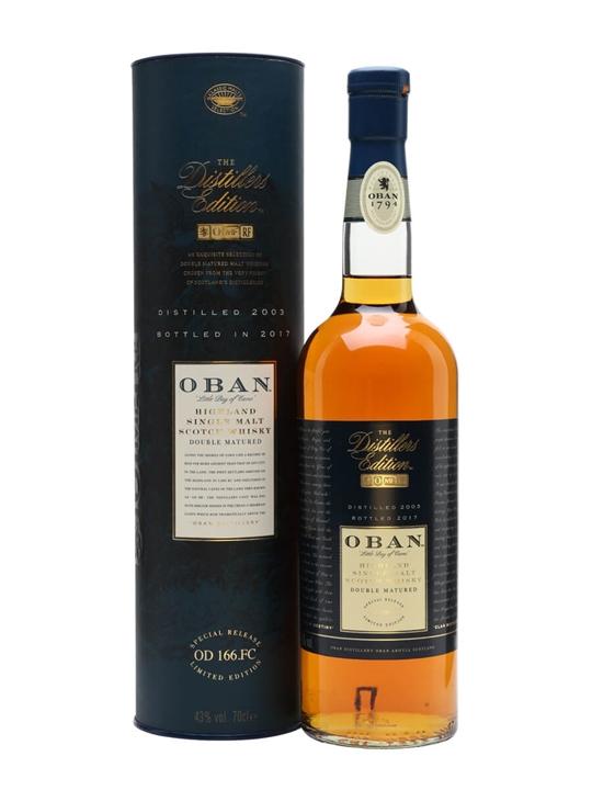 Oban 2003 / Distillers Edition Highland Single Malt Scotch Whisky