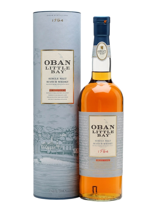 Oban Little Bay Highland Single Malt Scotch Whisky