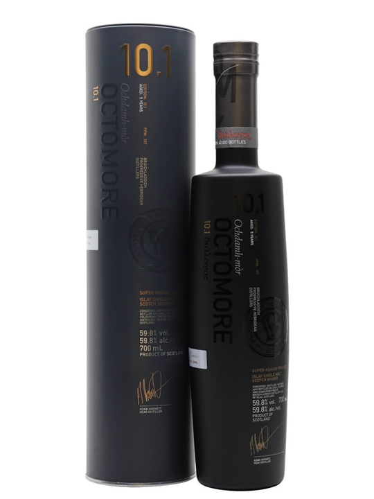 Octomore Edition 10.1 / 5 Year Old Islay Single Malt Scotch Whisky